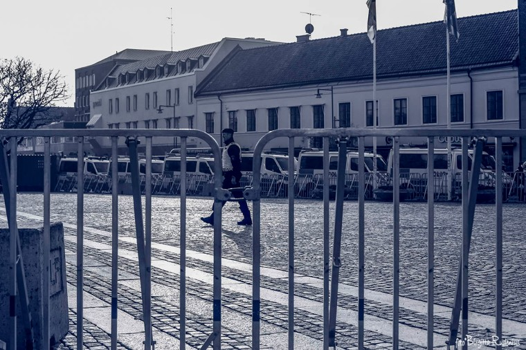 Stortorget i Lund - demonstration