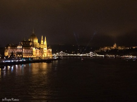 The Parliament by Danube side, Budapest