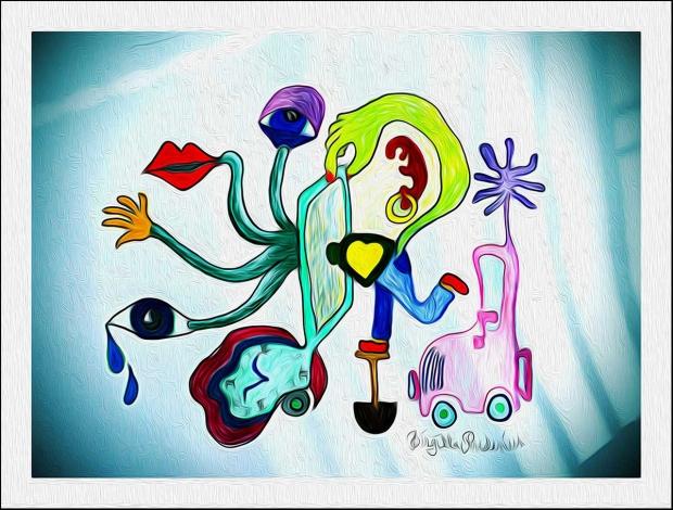 Crazy Art - Drive me crazy.