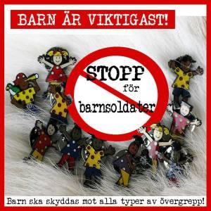 STOPP för barnsoldater