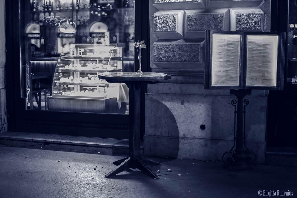 Blue Street Table