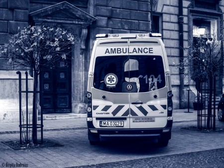 Blue Ambulance