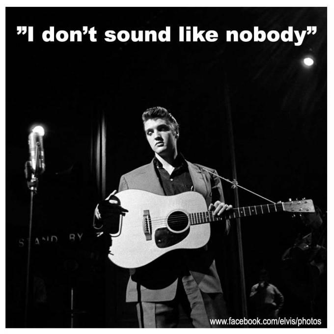 """ELVIS - """"I don't sound like nobody"""""""