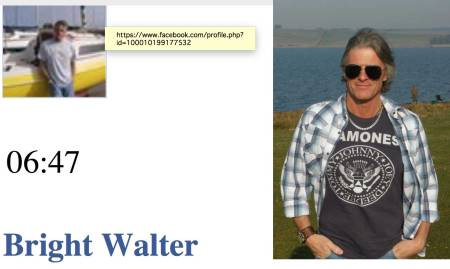 Fake: Bright Walter - Cyber Crime - Love Scams