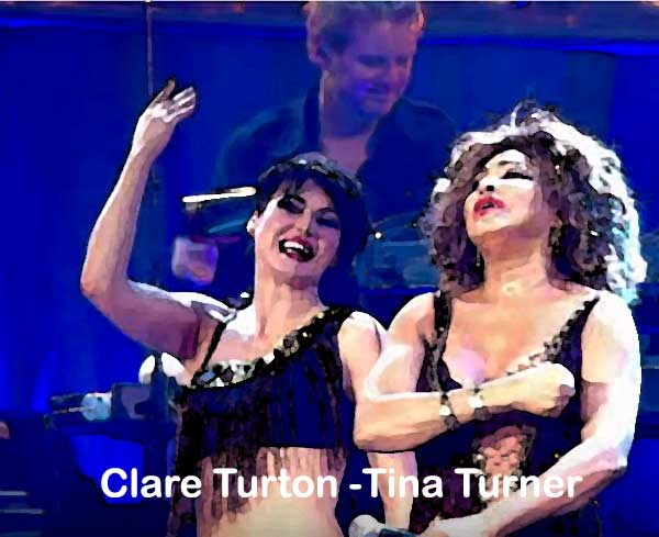 Proud Mary - Tina Turner & Clare Turton