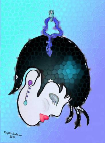 Crazy Art by blogfia- Brain Key 3