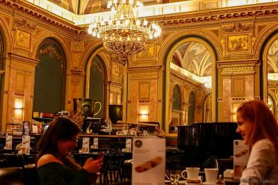 Alexandra Book Café, Budapest
