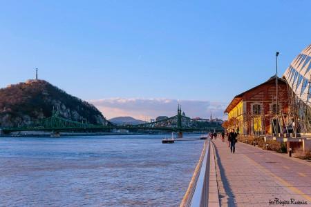 Liberty Bridge ahead - Budapest