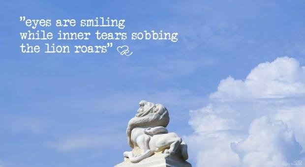 The roaring lion - Birgitta Rudenius